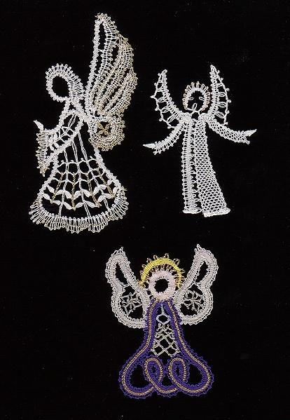 Bobbin Lace Angel Pattern